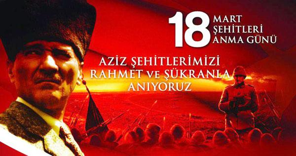 Çanakkale Zaferi 98. yılında tüm yurtta kutlanıyor